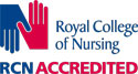 Royal College of Nursing CPD accredited logo