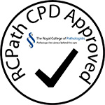 Royal College of Pathologists CPD approval logo