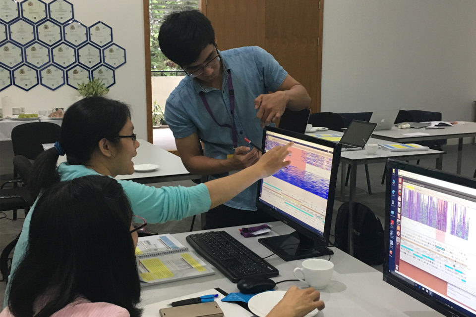Computational work at Working with Pathogen Genomes, Vietnam, 2017