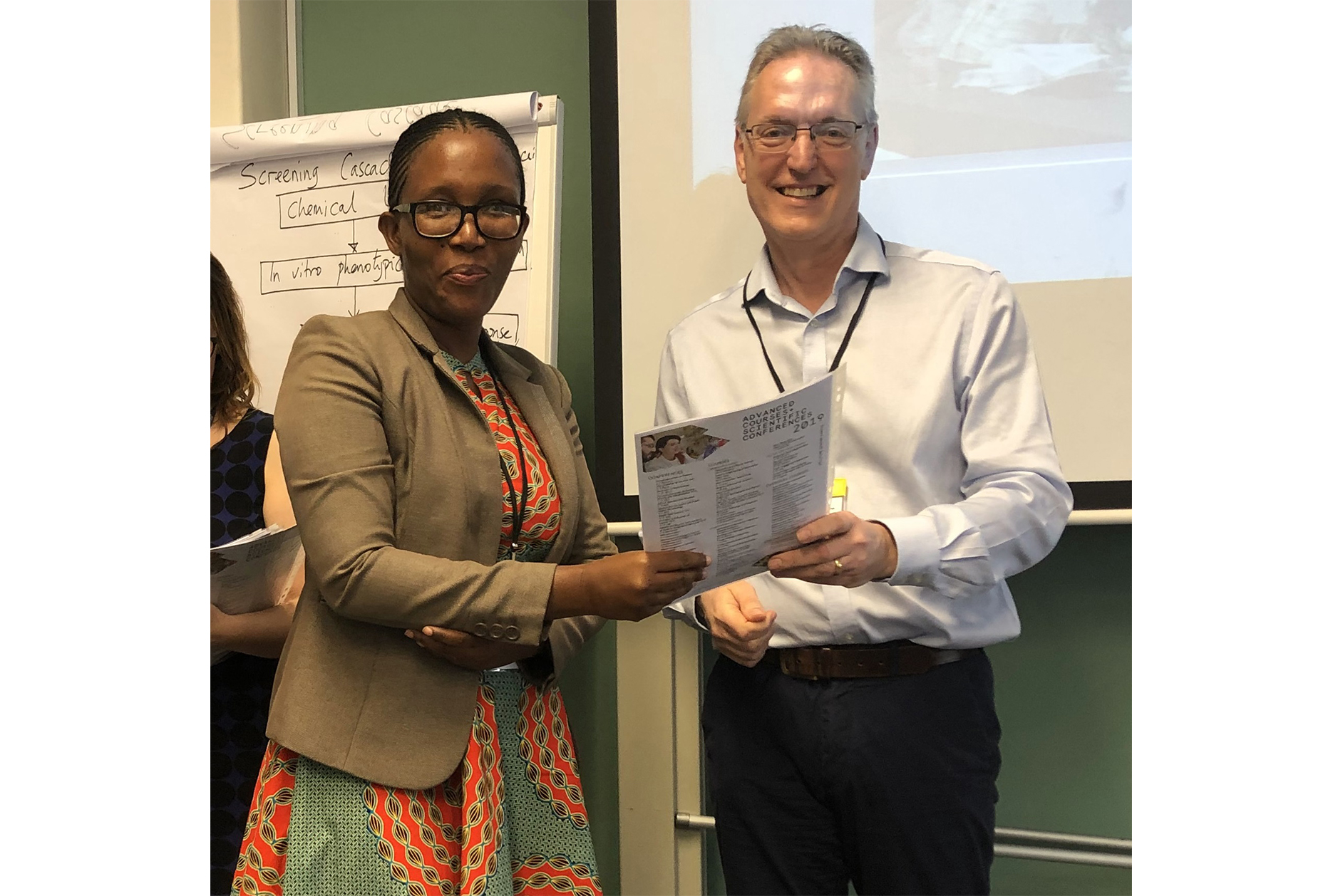 Certificate ceremony at ACSC's Drug Discovery course, Cape Town