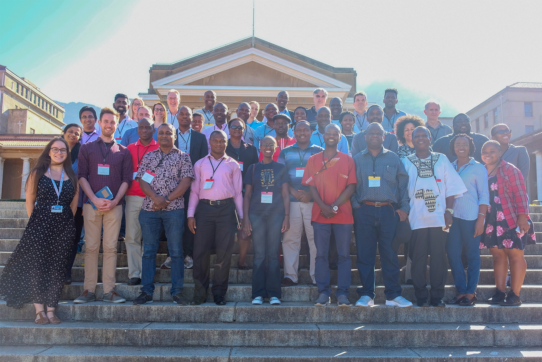 Group photo of participant at ACSC's Drug Discovery course in Cape Town, APril 2019