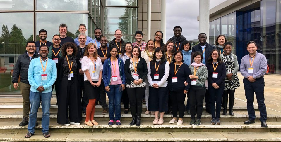 Participants at Train the Trainer: Capacity building for genomic surveillance of AMR in low- and middle-income countries 2019